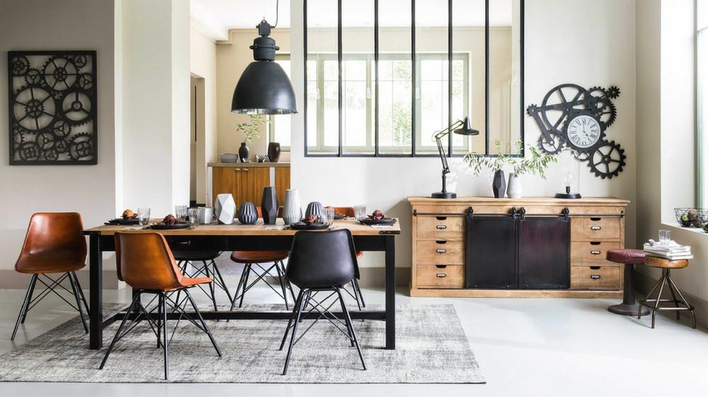 decoration-industrielle-moderne-salon