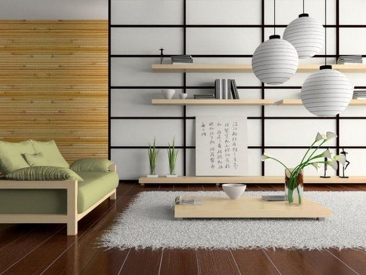decoration salon japonais