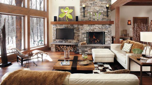 cheminee decoration systeme chauffage
