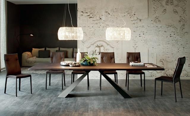 table salle a manger bois design