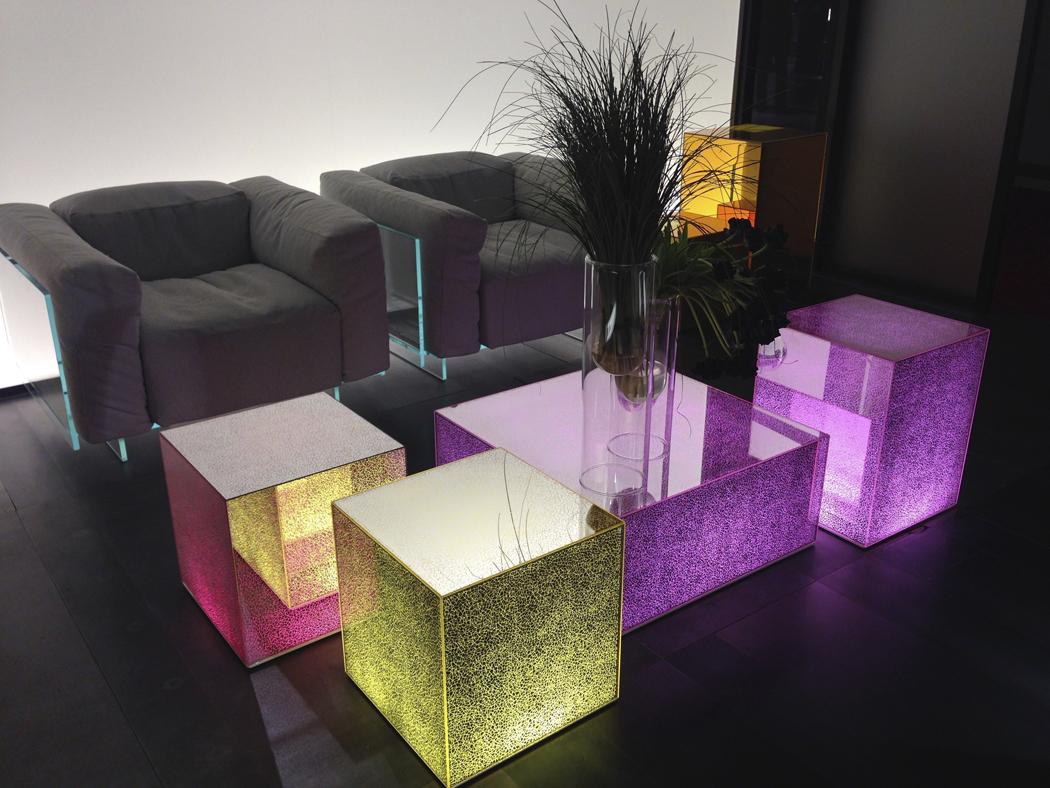 La tendance des meubles transparents